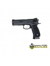 Replica ASG Pistola CZ SP-01 SHADOW Combi Full metal - 6 mm GBB / Co2