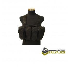 Chaleco AK Chest Ring Black