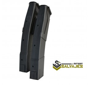 LCT PK-263 PP-19-01 DOUBLE MAGAZINE (50RDS X2)