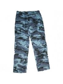 Pantalon urbano azul