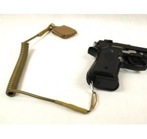 Correa sujección seguridad para pistola Tan