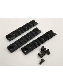 conjunto Set rail metarico para G36
