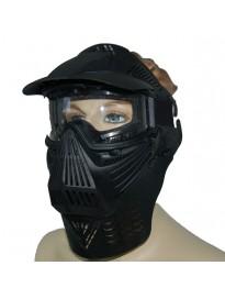 Protecciones Mascara Airsoft Completa Vidrio Negra