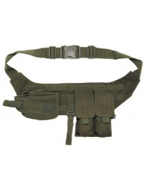 Cinturon con pouches y funda de pistola O.D.