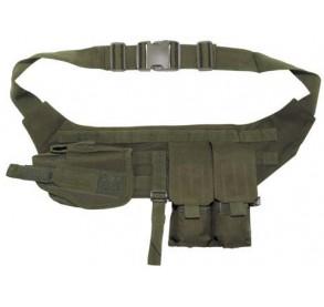 Cinturón con pouches y funda de pistola O.D.