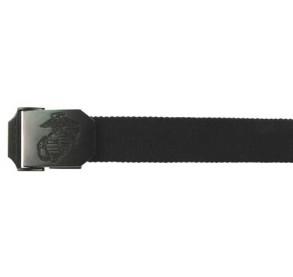 USMC Web cinturón de 35 mm, negro
