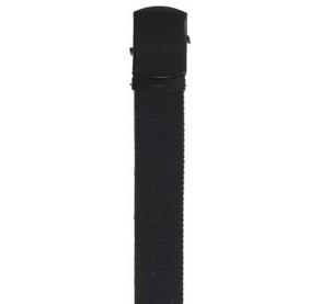 Cinturón 30mm, negro, hebilla de metal negro