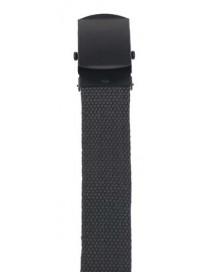 cinturon 30mm, negro, hebilla de metal O.D.