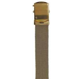 Cinturón 30mm, Tan, hebilla de metal