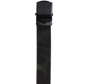 Cinturón 30mm, woodland, hebilla de metal