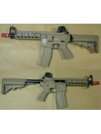 g&g m4 cqb ras combat machine (tan)