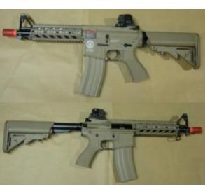 g&g m4 cqb  combat machine (tan)