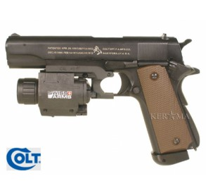 Colt 1911 A1 Kjw Blowback System Co2