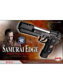 Samurai edge Barry Burton