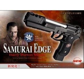 Samurai edge Barry Burton